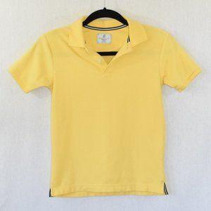 Class Club Modern Fit Yellow Polo Shirt Size 10/12